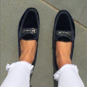 Sam Edelman velvet loafers